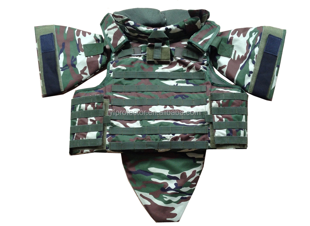MILITARY BULLET PROOF MOLLE JACKET