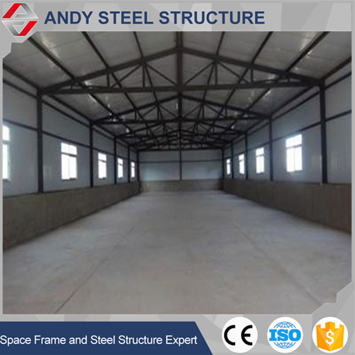 Long service life steel structure workshop and warehouse hot sale