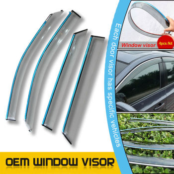 Car accessories acry plate car window visor auto for Acura MDX 10-13