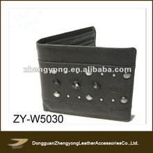 Human importer of leather wallets men wallet leather