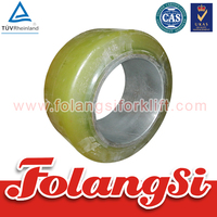 Forklift Parts Load Wheel used for (5-7)FBR(10-18)/(5-6)FBRE(10-16) with OEM 254*120*158