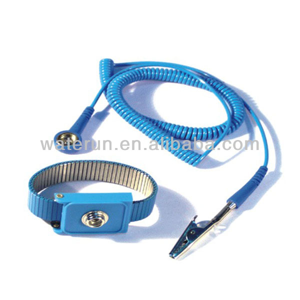 ESD Metal Wrist Strap, antistatic wrist strap supplier