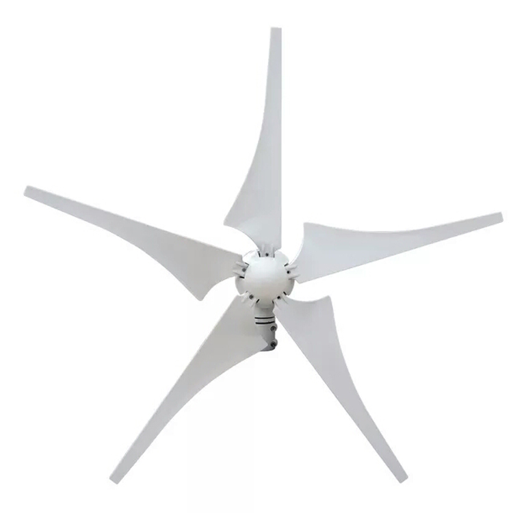 ZM050005 Best Quality 400w 12v <strong>24V</strong> Horizontal Shaft <strong>Wind</strong> <strong>Turbine</strong> 5 Blades Camping <strong>Wind</strong> Generator