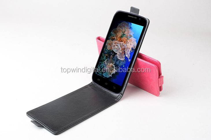 New Custom Mobile Phone Case For Doogee DG500 with Up-Down Flip Style