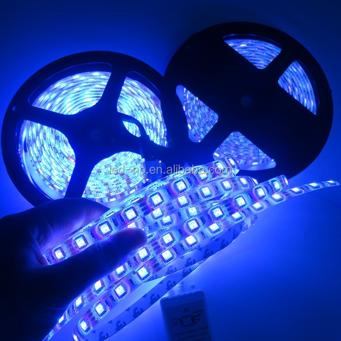 Latest Fashional 5050 flexible led strip 120led/m 60/30leds/m waterproof rgb led strip 24v
