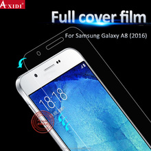 2017 new premium cell phone screen protector TPU full cover 3D curved touch screen protective film For Galaxy A8 2016