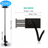 Hot sale long neck flexible 360 degree rotation tablet pc table stand bed holder for iPad