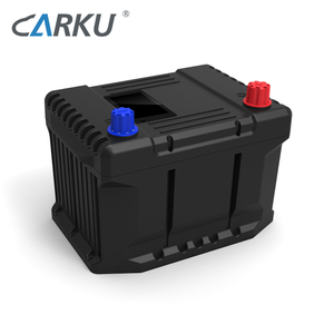 CARKU New 20Ah Intelligent 13-15V Lithium ion Car Battery Charger Jumpstart All 12V Car to Replace Lead Acid Battery