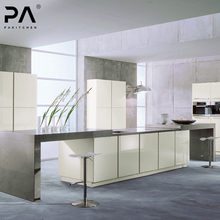 OEM production bambookitchen modern high gloss mobile white kitchen cabinet design modern kitchen furniture for kitchen cabient