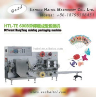 Hot Sale Fully Automatic High Speed Flat Lollipop Candy Making Machine Producing Round Or Flat Lollipops