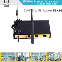 Industrial network 4g 4g lte mobile dual sim wifi Router FOR home security system cctv camera