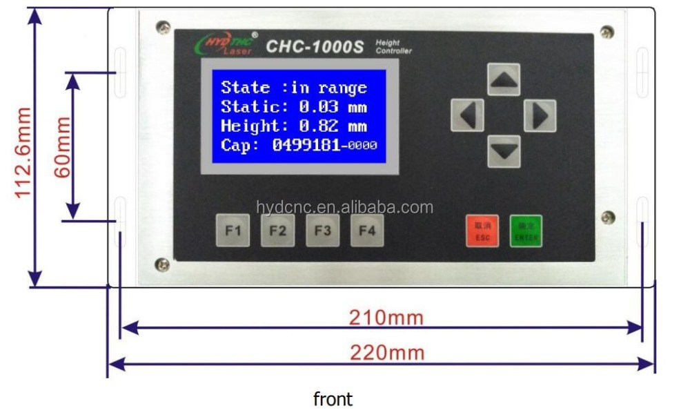 laser cutting height sensor Auto focus system CHC-1000S  same way as EG8030