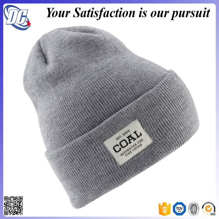 2017 new wool knitted cap/classic retro knitting beanie hat