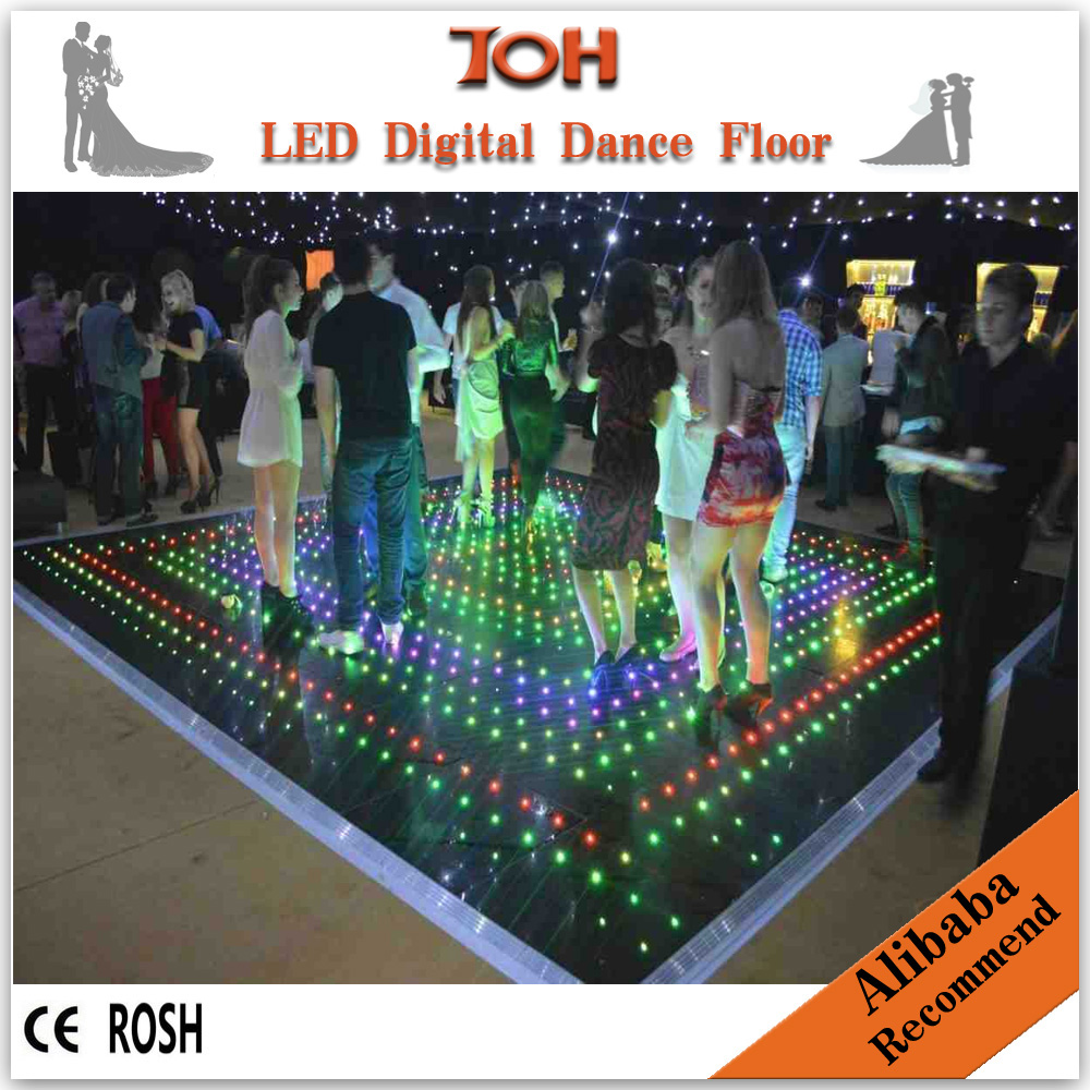 led floor tiles led video dance floor hire