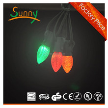 Hot-selling incandescent night bulb C7 with different color