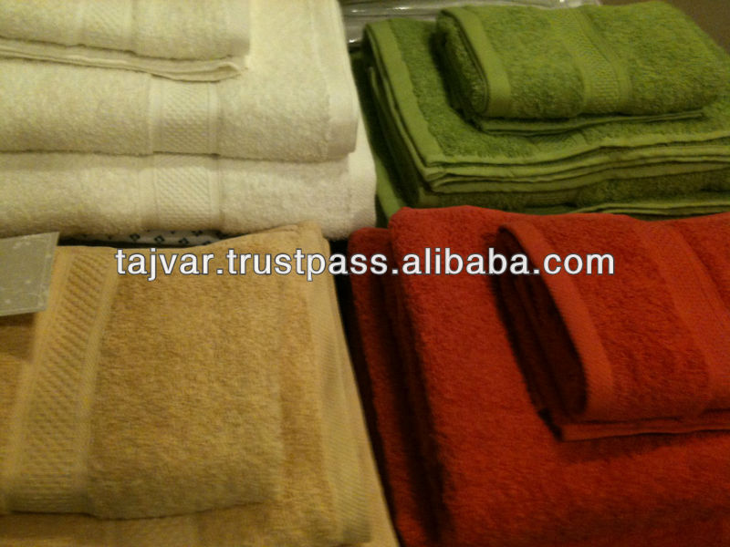 Solid Dyed Bath Towels