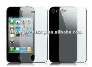 Mirror Screen Protector for ip5 with retail package