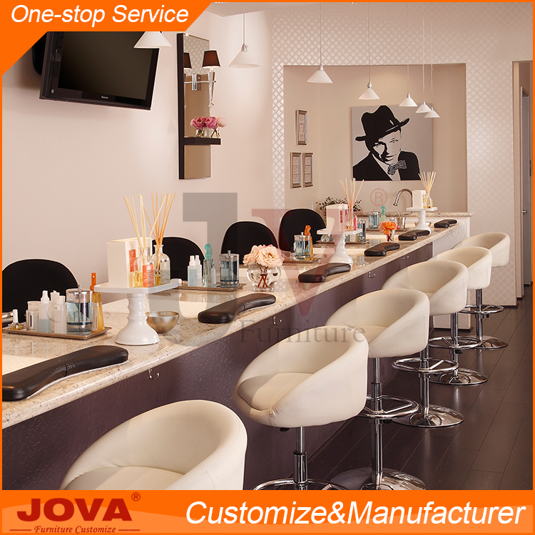 Guangdong jova furniture beauty nail salon equipment for Beauty salon furniture suppliers