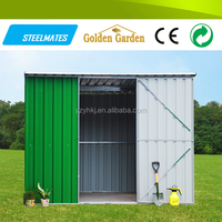 bicycle garage green small kit homes and storage sheds