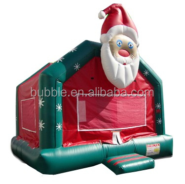 China factory sale inflatable Christmas house big inflatable bouncers for festival