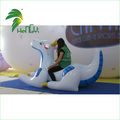 Blue Inflatable Dragon Toy for Ride