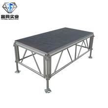 Easy Install removable Aluminum Assemble stage/ Affordable Modular Stage System/Durable Assemble Stage on Sale