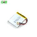 Rechargeable lithium ion polymer battery 804654 3.7v 2200mAh lipo battery for GPS devices