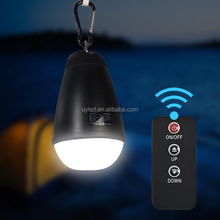 2016 New Product Remote Control Led Rechargeable Camping Lantern