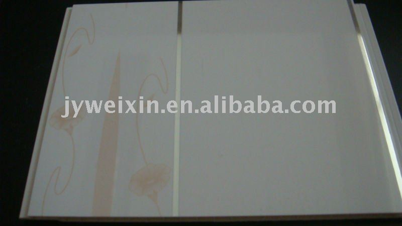PVC high gloss panel in steady quality for wall and ceiling decoration