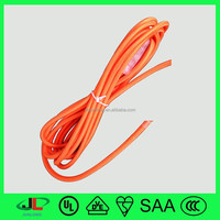Wholesale UK fabric coated electrical power wire cables power cable,cotton insulated copper wire
