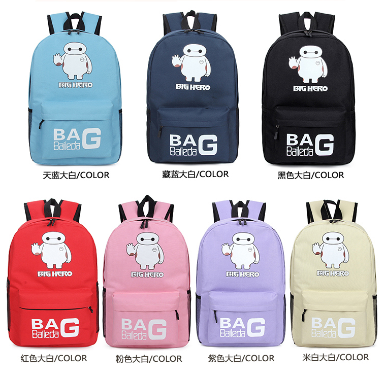 2016 Hot Sell Kpop Fashional School Backpack