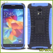 New hybrid tpu phone case with stand for samsung galaxy S5 with china manufacturer