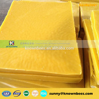 natural organic yellow beeswax for candle
