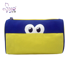 Beautiful Canvas Zipper Toiletry Cosmetic Bag for Travel