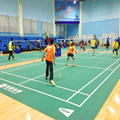 Waterproof Double Layers Badminton Court Mat for Indoor Sports