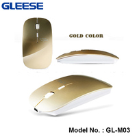 2.4G Fashional Rechargeable Long-term Battery optical finger mouse wireless logitech