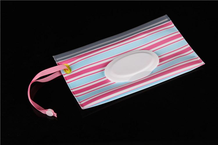 Top sale attractive style baby wet tissue cloth bag for wholesale