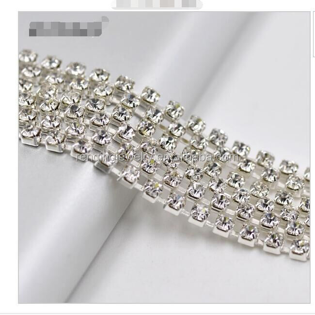 rhinestone cup chain trim <strong>crystal</strong>