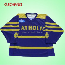 custom sublimated ice hockey goalie jerseys