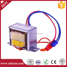 EI core Wire Leads Type Power Transformer for Halogen Lamp