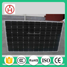 customized 260w monocrystalline solar panel pv module with RoHS