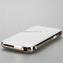 Mini Multimedia Pocket Cinema Handheld DLP Pico Projector Mini PC Smart Projector with Gold Color