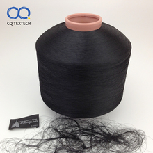 CQ OEM 100D 600TPM 100 polyester dty dyed yarn for sale
