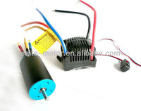 Saite Factory 3660 4 pole brushless motor + 120A esc for 2.4G HSP rc parts and HPI car
