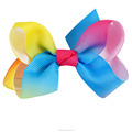 Little Cute 3 Inch Rainbow Bows For Girls In Wholesale BH1533-X