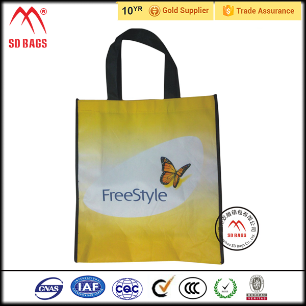 Hot sale recycled laminated pp woven bag,food packaging bag,promotion pp woven large bag for ladies