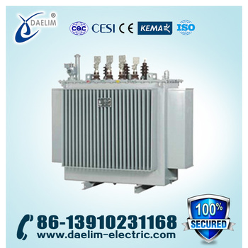 Distribution Transformer 480v/13.2kv 1mva with Copper Winding