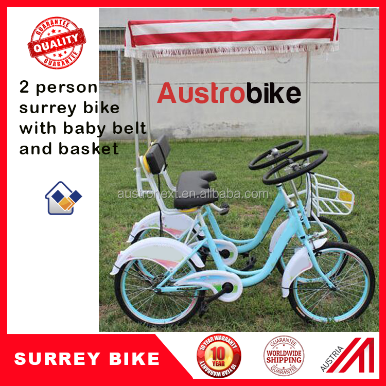 surrey bike for 2 people hot selling best price 2 person bike