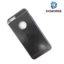 High Quality PC and PU leather cell phone case cover for Iphone 6