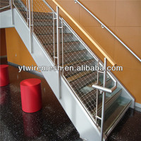 Stainless Steel Flexible Inox Cable Net for Stairs Railing Infill